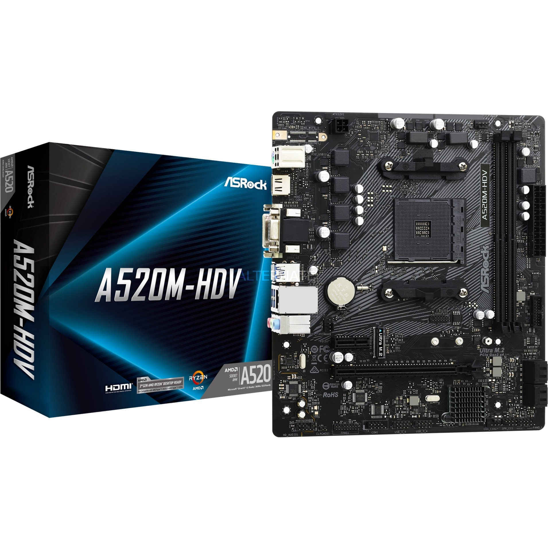 Image of A520M-HDV, Mainboard