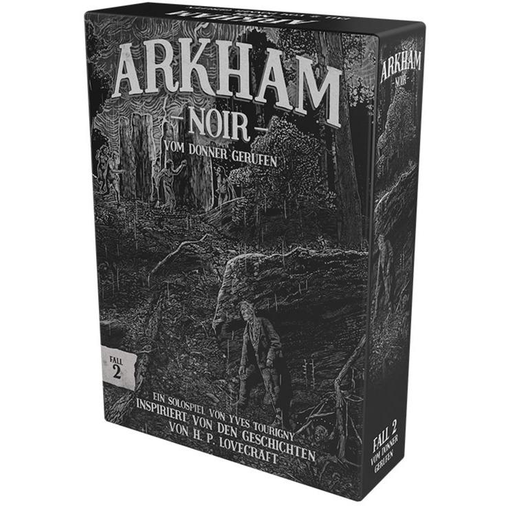 Image of Arkham Noir - Fall 2: Vom Donner erweckt, Kartenspiel
