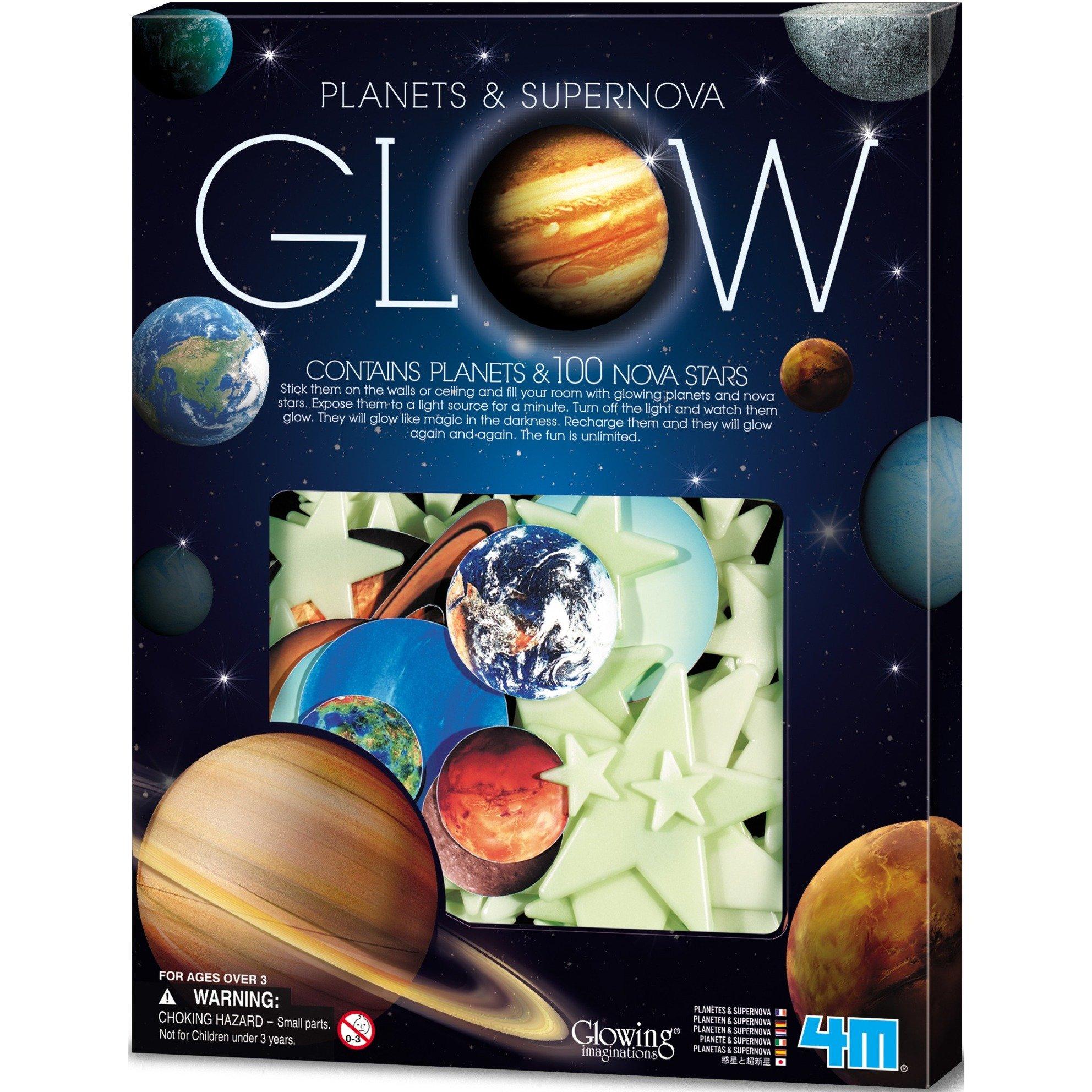 Image of Glow - Leuchtsterne & leuchtende Planeten, Dekoration