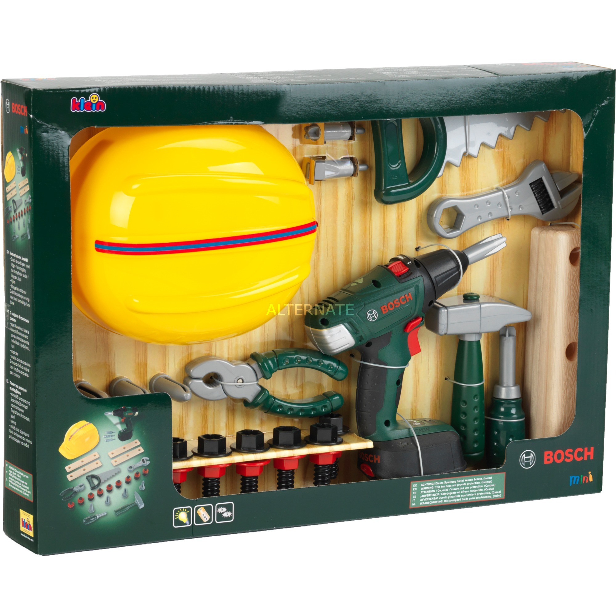 Image of Bosch Handwerker-Set, Kinderwerkzeug