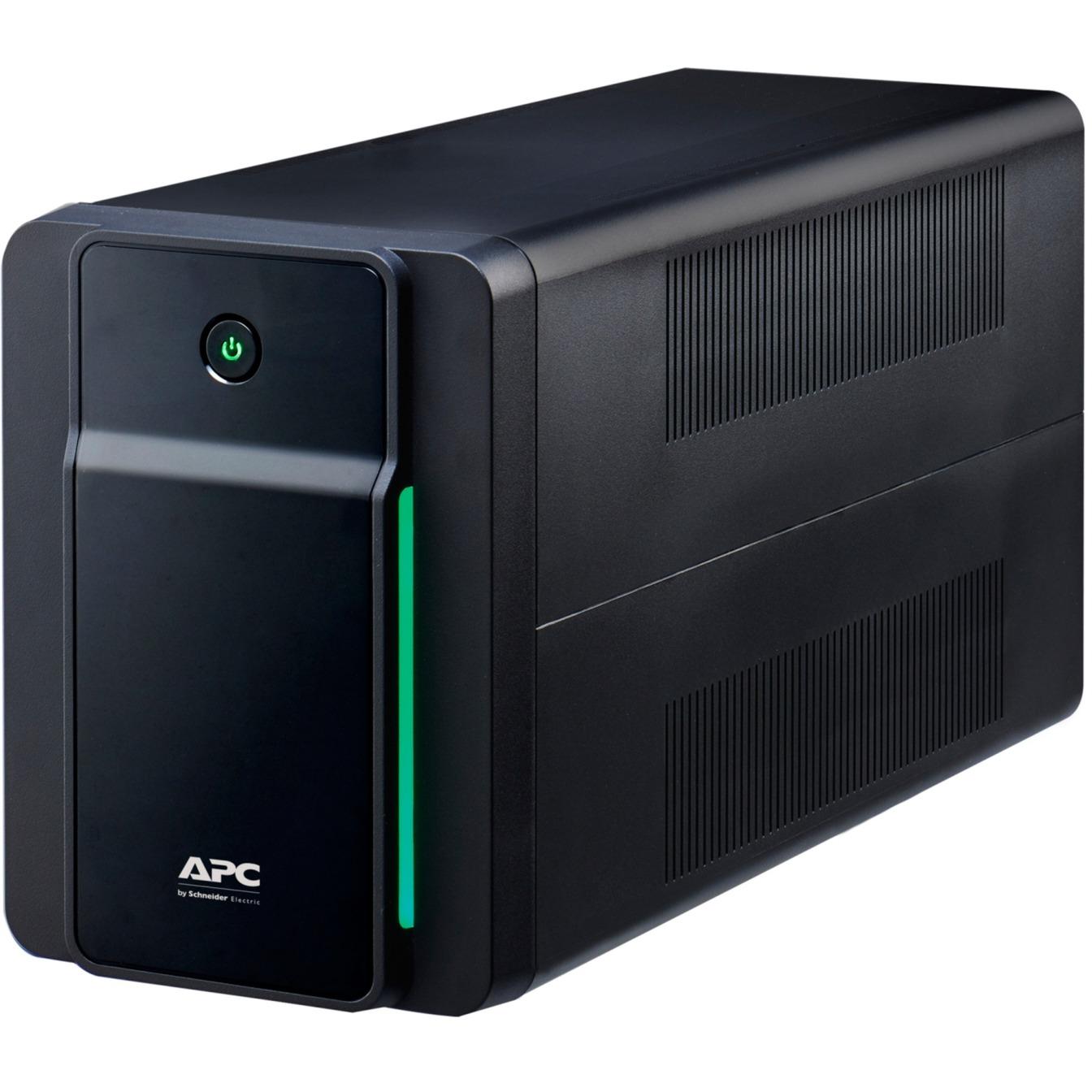 Image of Back-UPS 2200VA, 230V, AVR, Schutzkontakt Sockets, USV