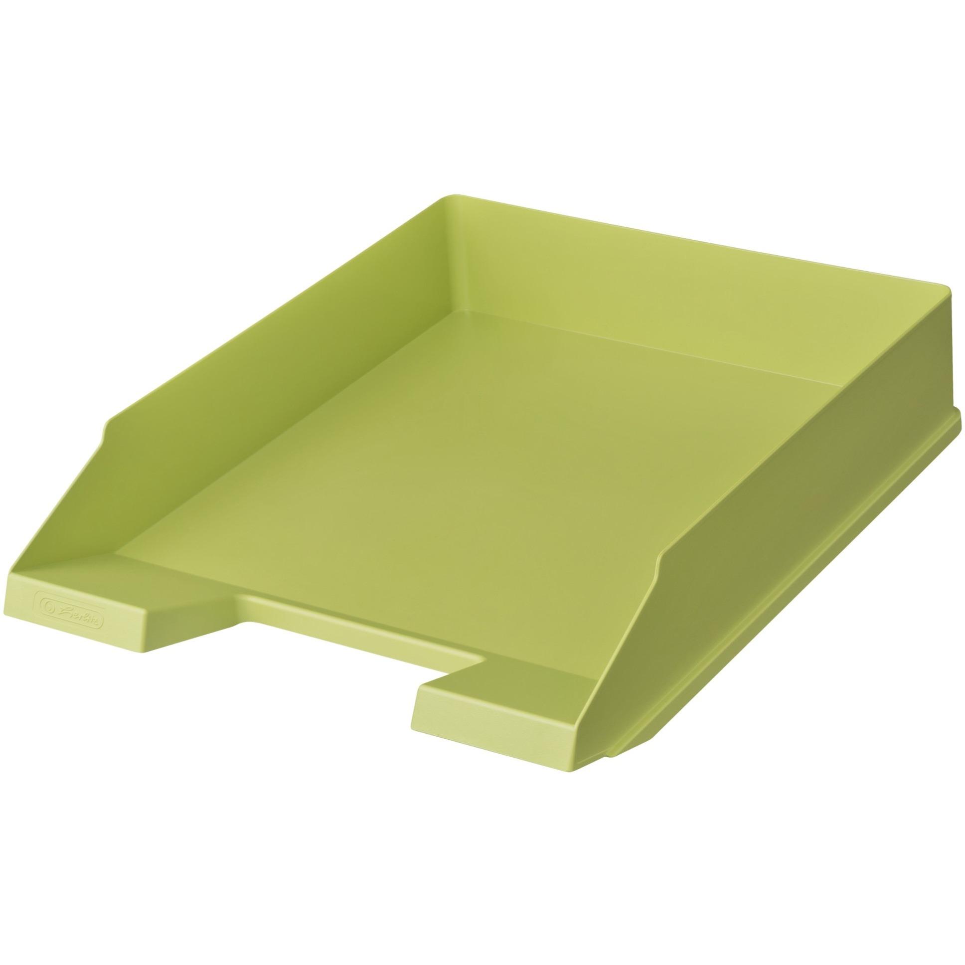 Image of Ablagekorb A4-C4 classic intensiv hellgrün, Briefablage