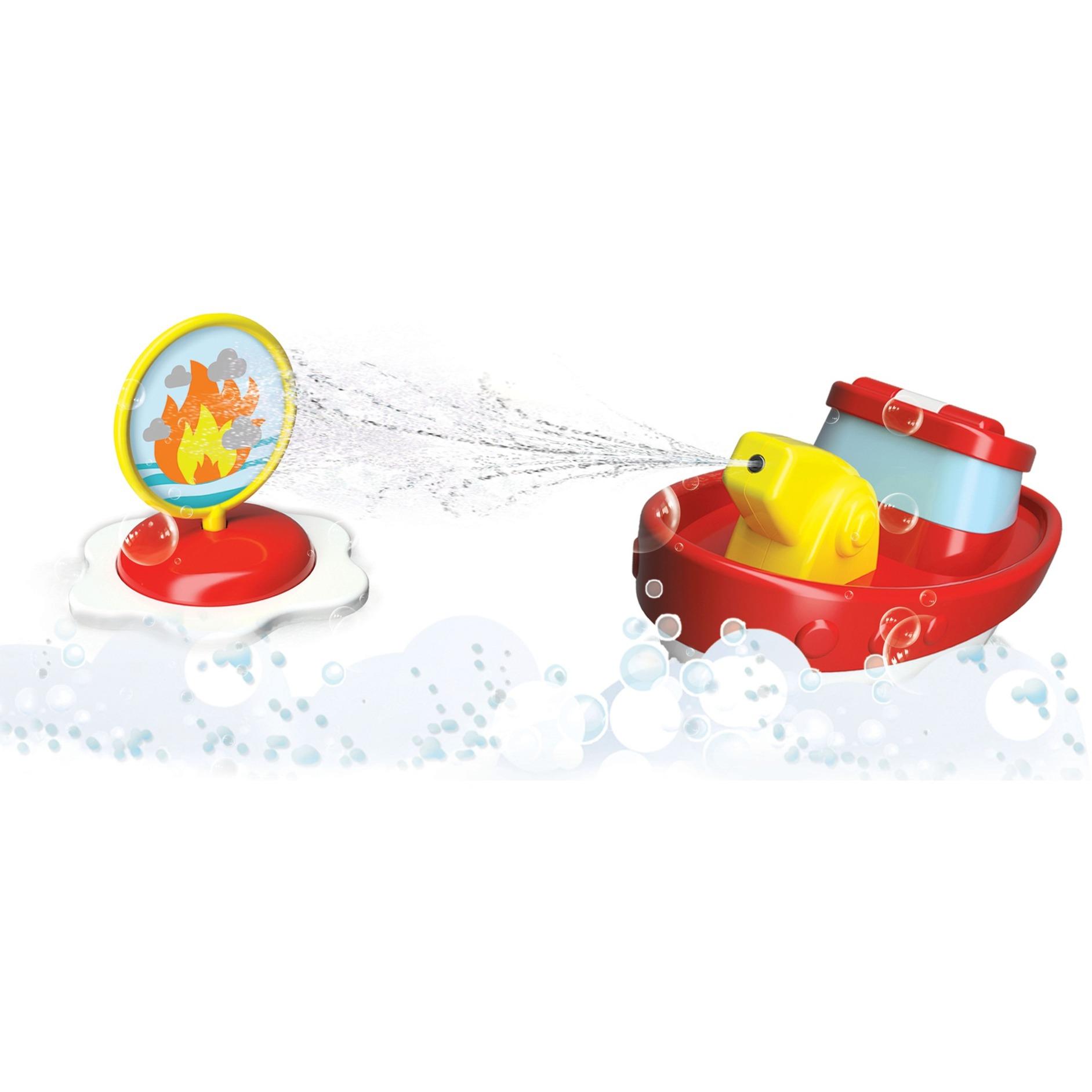 Image of BB Junior Fire Boat mit Spritze und Zielscheibe, Wasserspielzeug