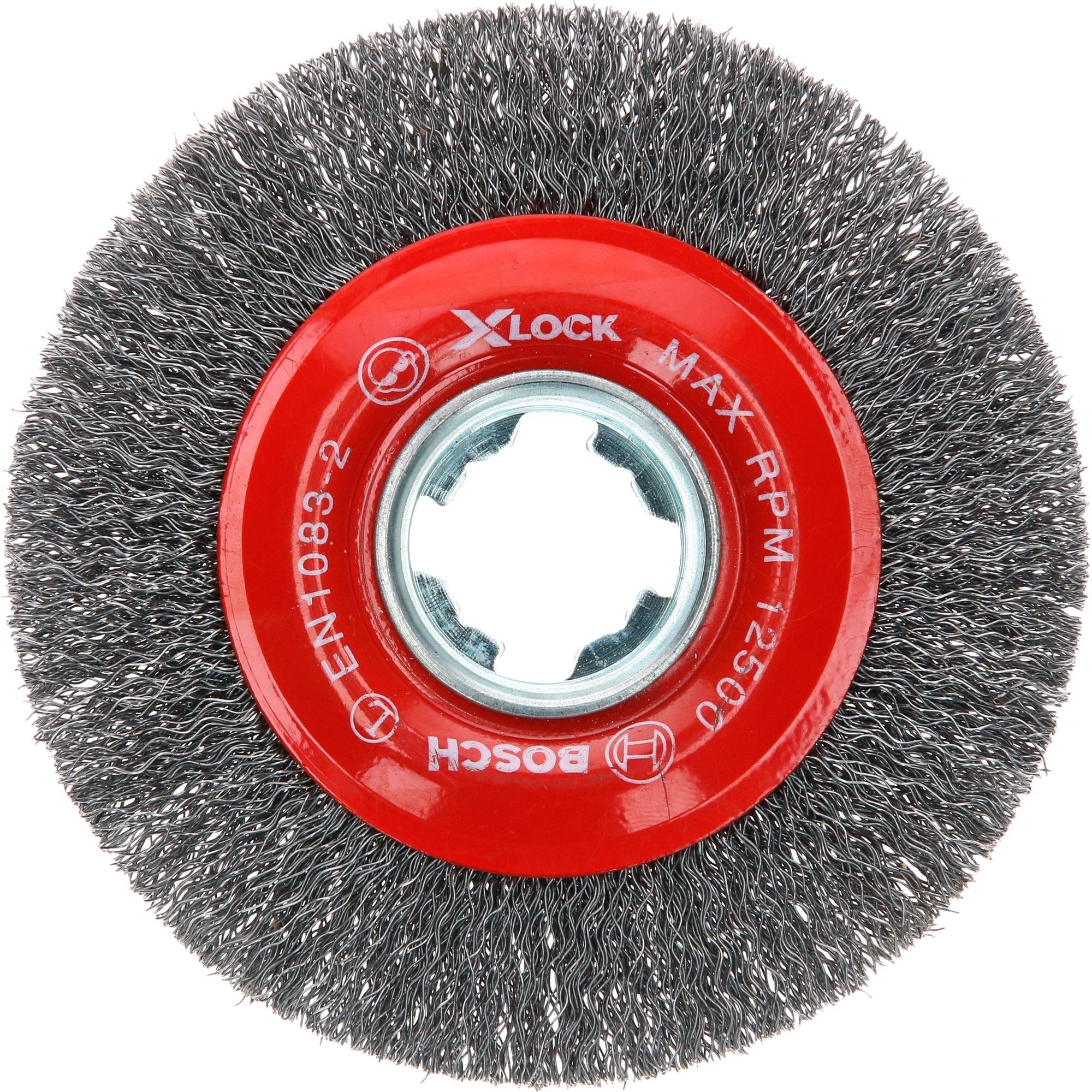 Image of X-LOCK Scheibenbürste Clean for Metal 115mm, gewellt