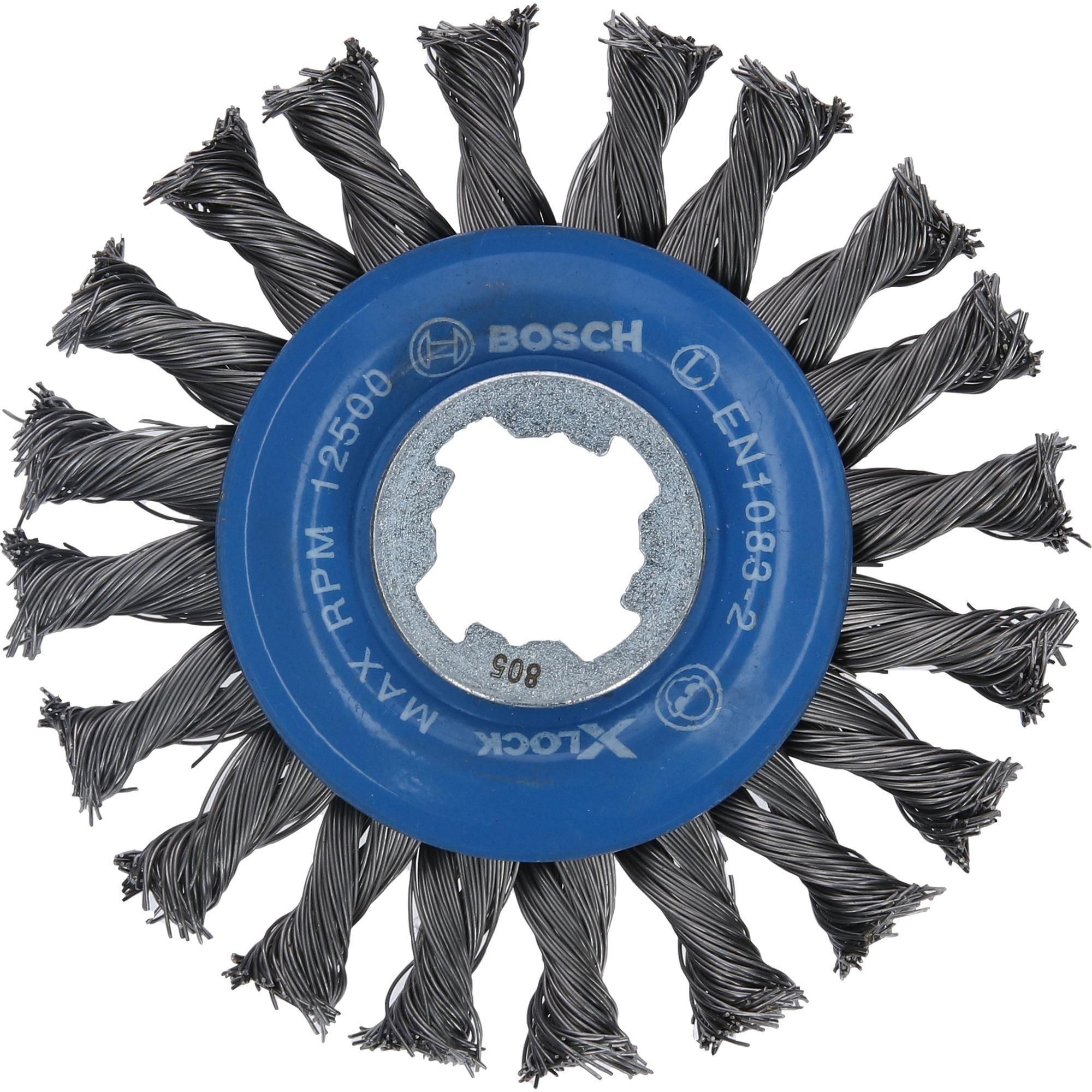 Image of X-LOCK Scheibenbürste Heavy for Metal 115mm, gezopft