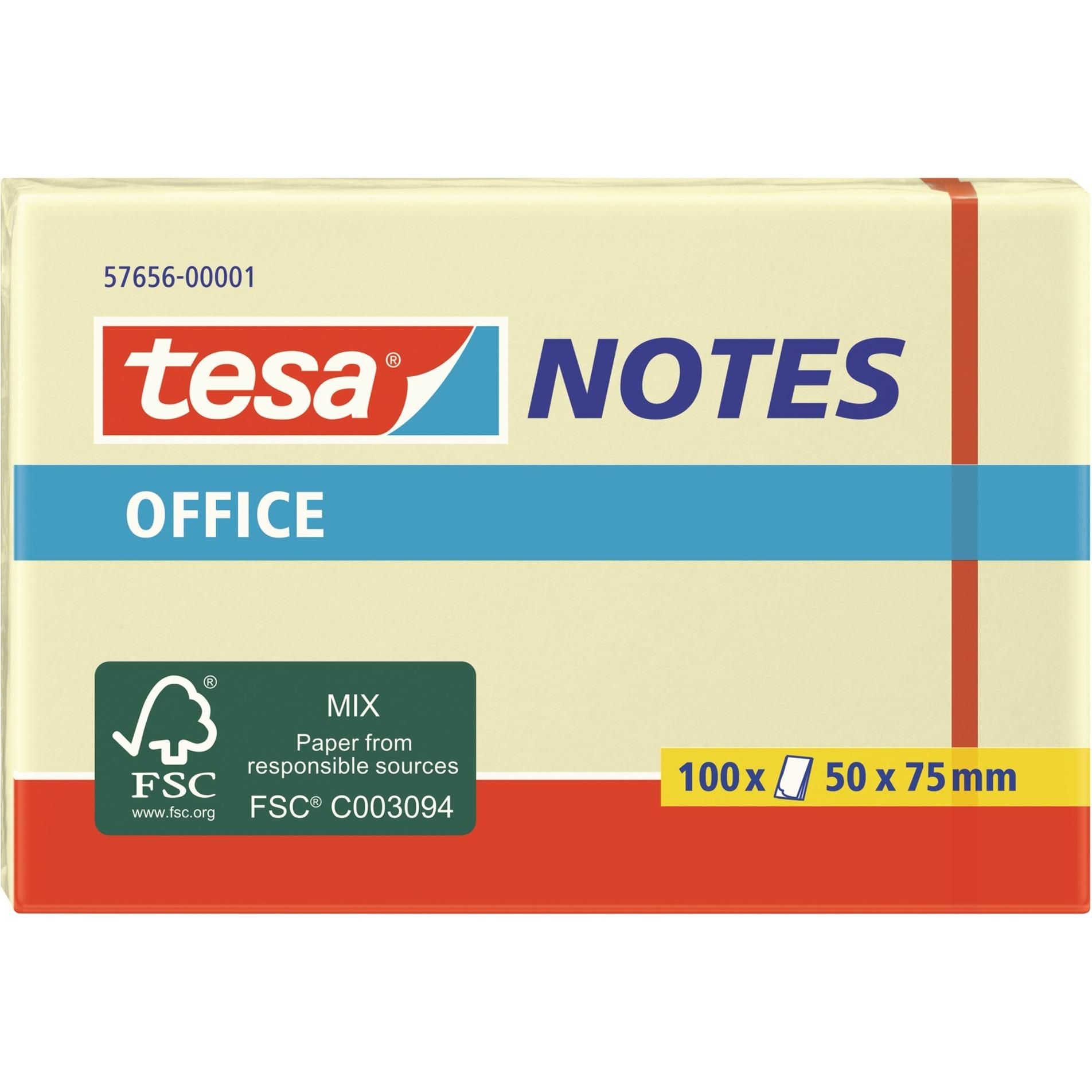 Image of Office Notes, 100 Blatt, Aufkleber