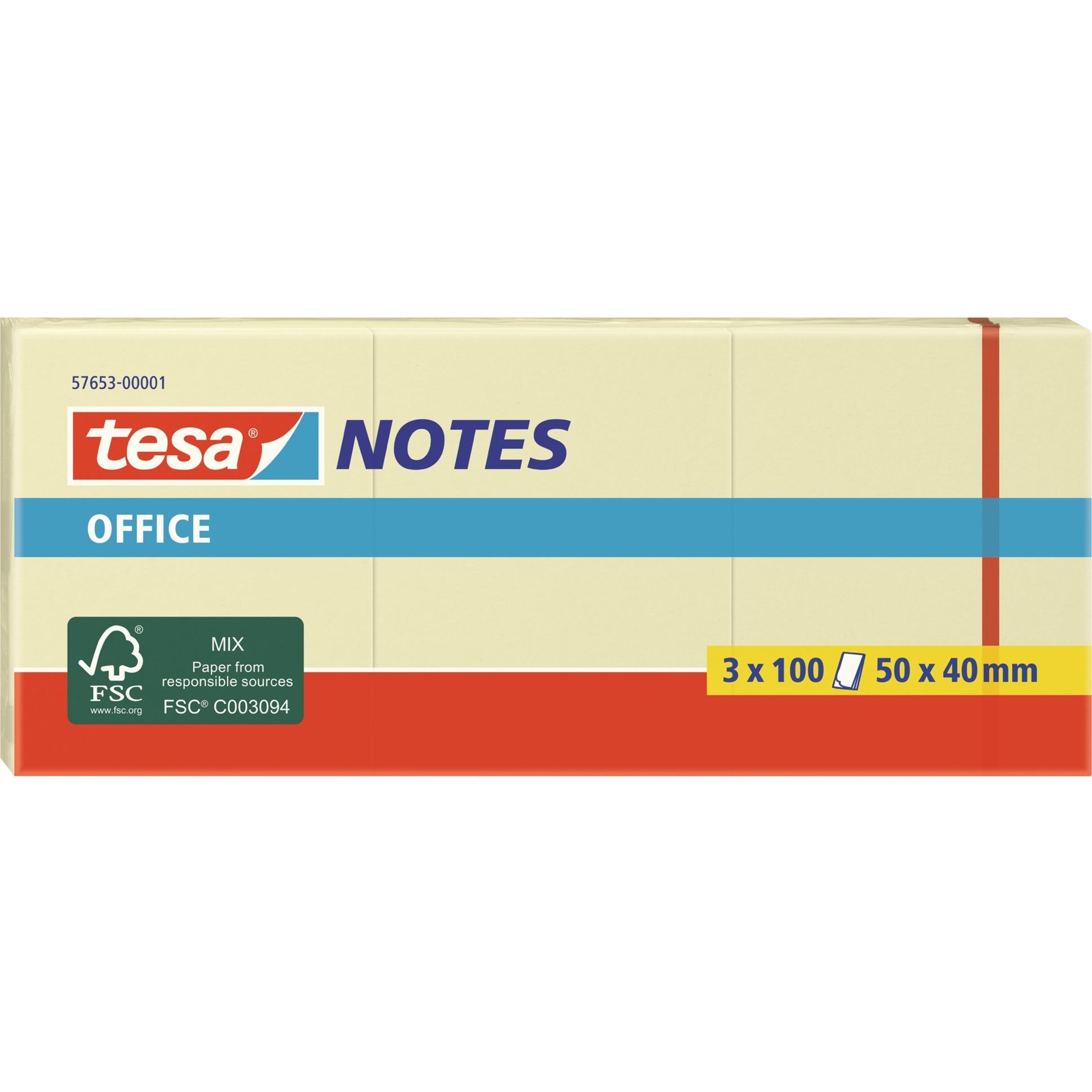 Image of Office Notes, 3 x 100 Blatt, Aufkleber
