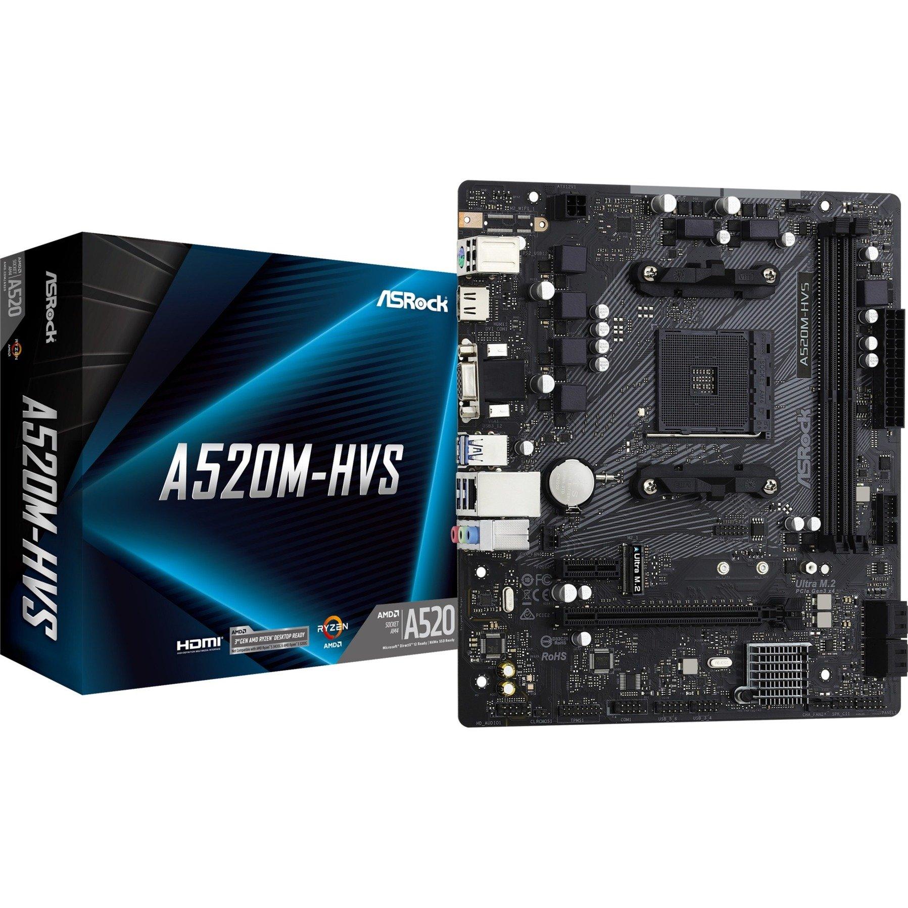 Image of A520M-HVS, Mainboard