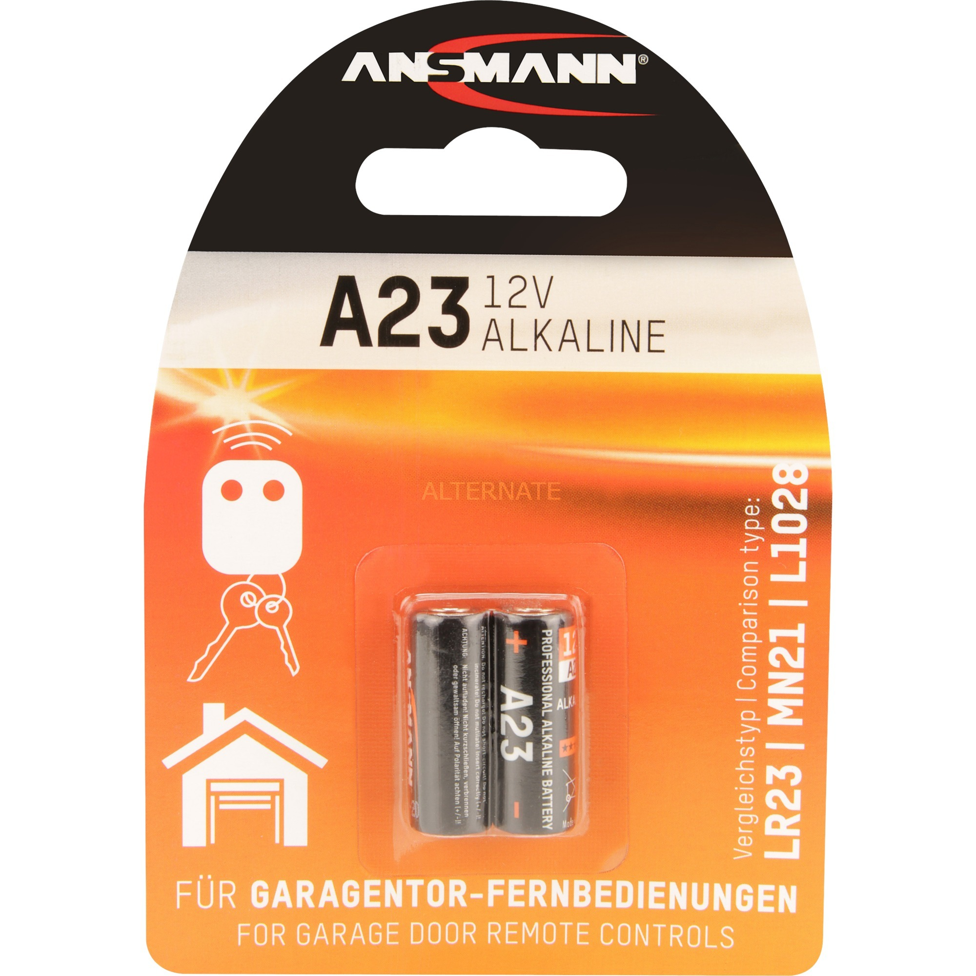 Image of A23/LR23, Batterie