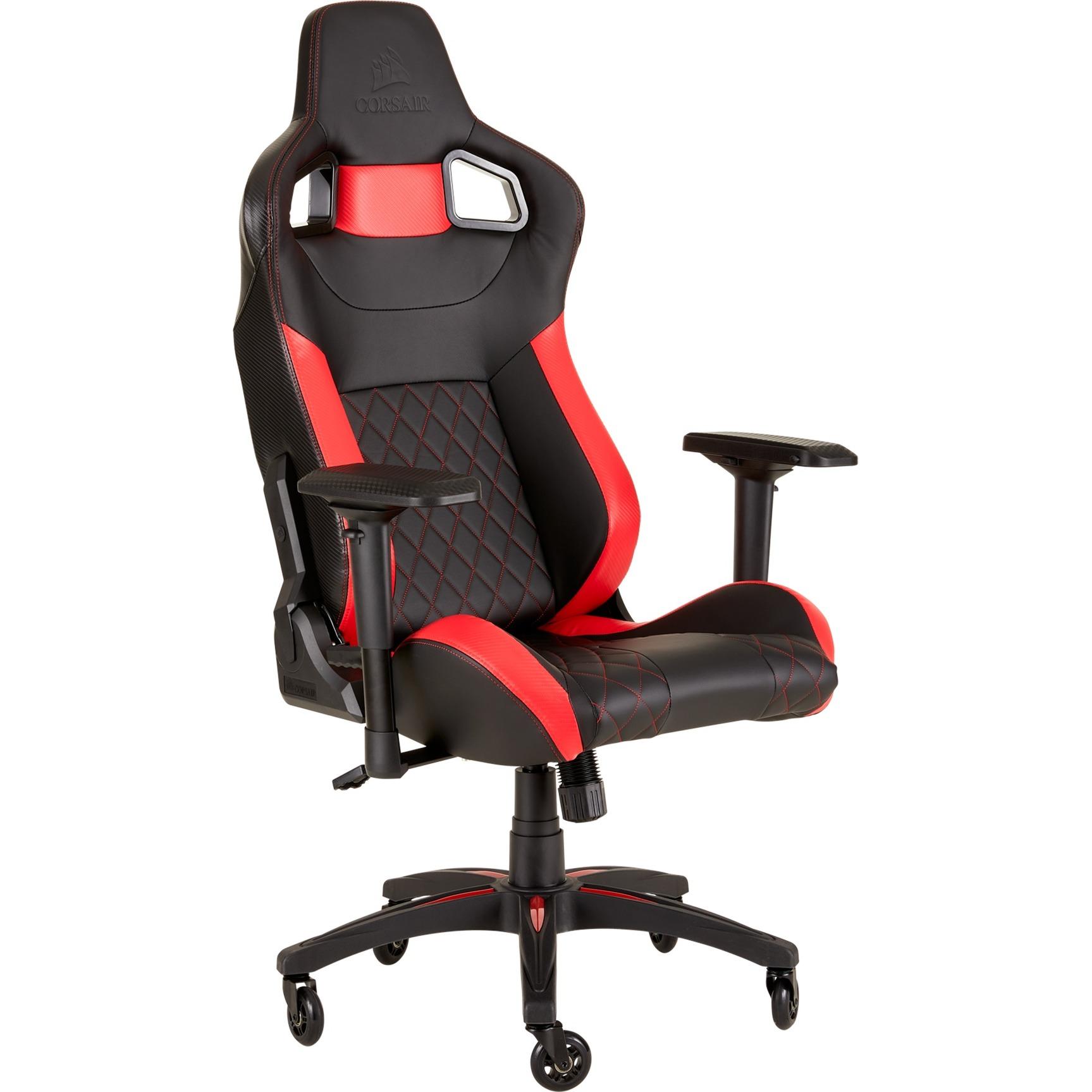 Corsair T1 Race 2018 Gaming Chair Spielsitz Schwarzrot
