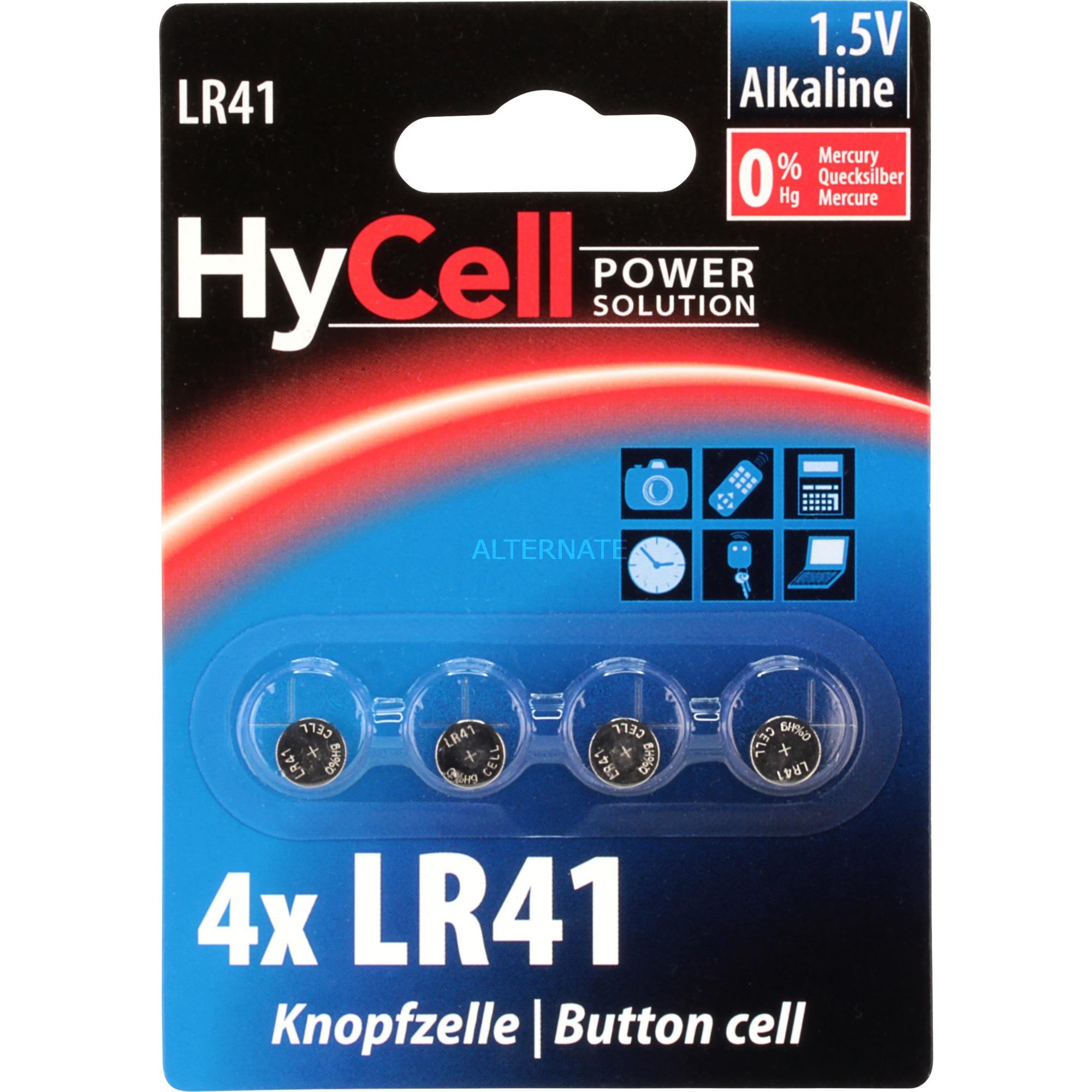 Image of Alkaline Knopfzellen LR41 / LR736 / AG3, Batterie