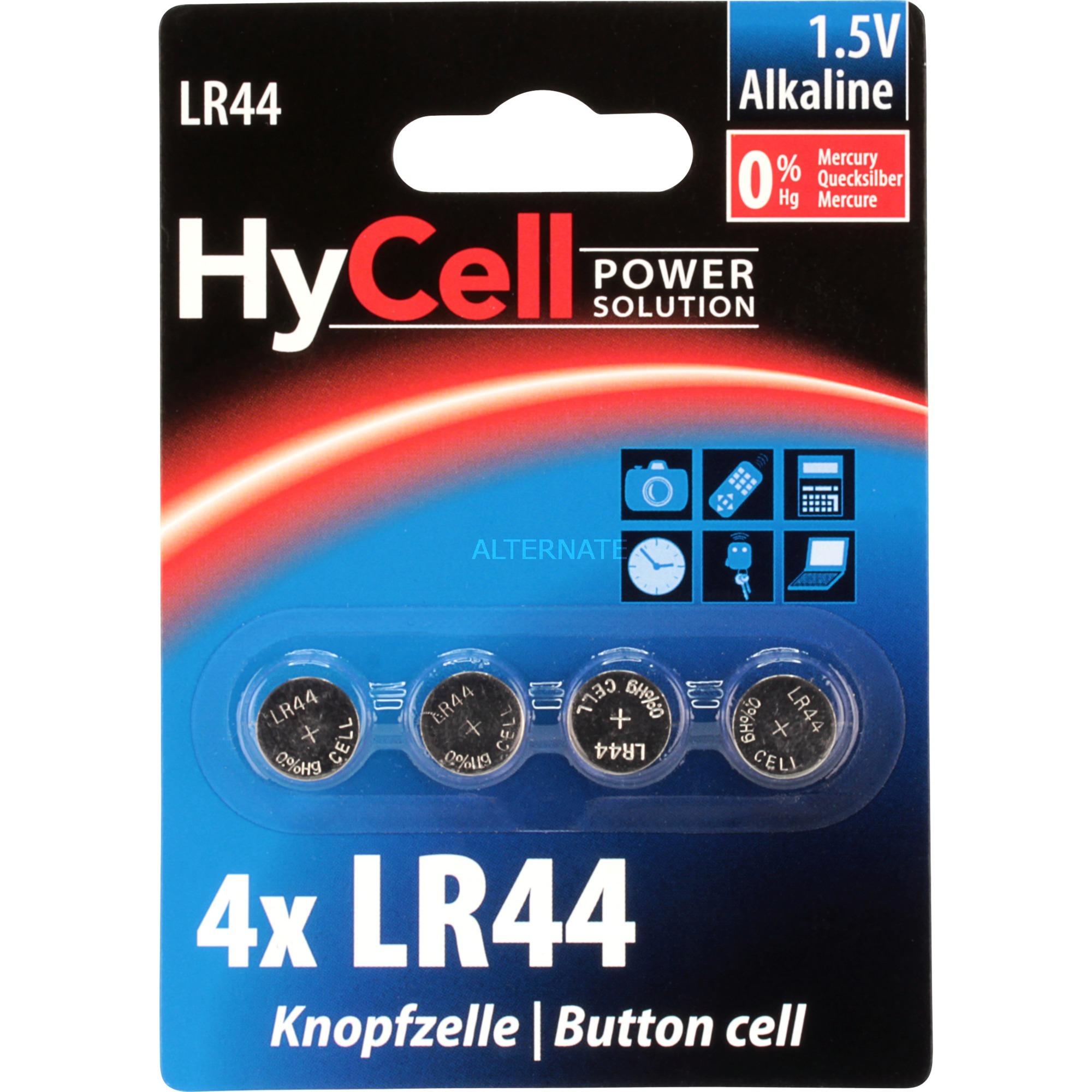 Image of Alkaline Knopfzellen LR44 / LR1154 / AG13, Batterie