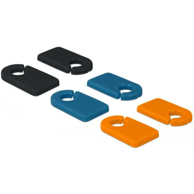 Image of Kabelmarker Clip zum Selbstbeschriften Set, Kabelclip