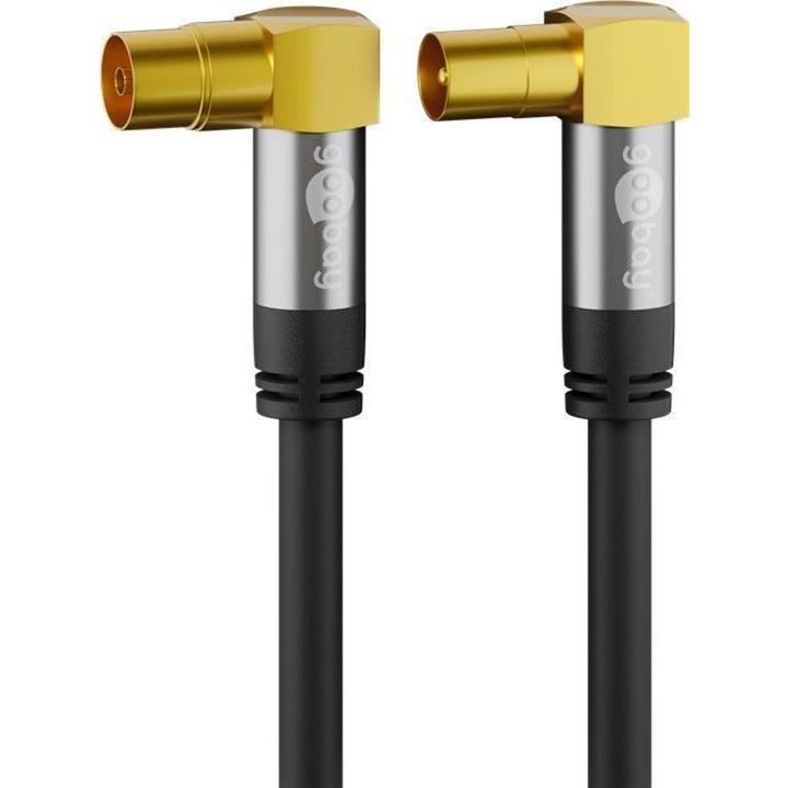 Image of Antennenkabel (135dB typ), Koax-Buchse 90° > Koax-Stecker 90°