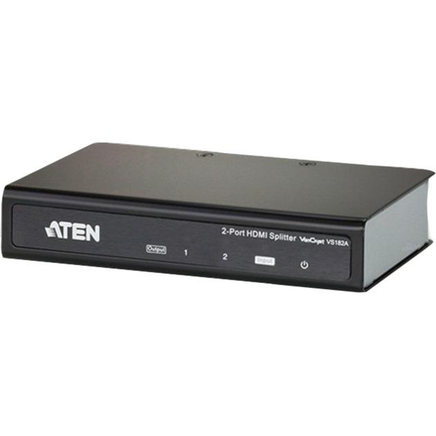 Image of 2Port HDMI Audio/Video Splitter, HDMI Splitter