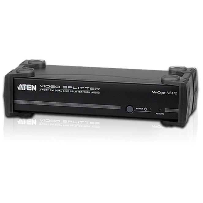 Image of 2-Port-DVI-Dual-Link/Audio-Splitter, DVI Splitter