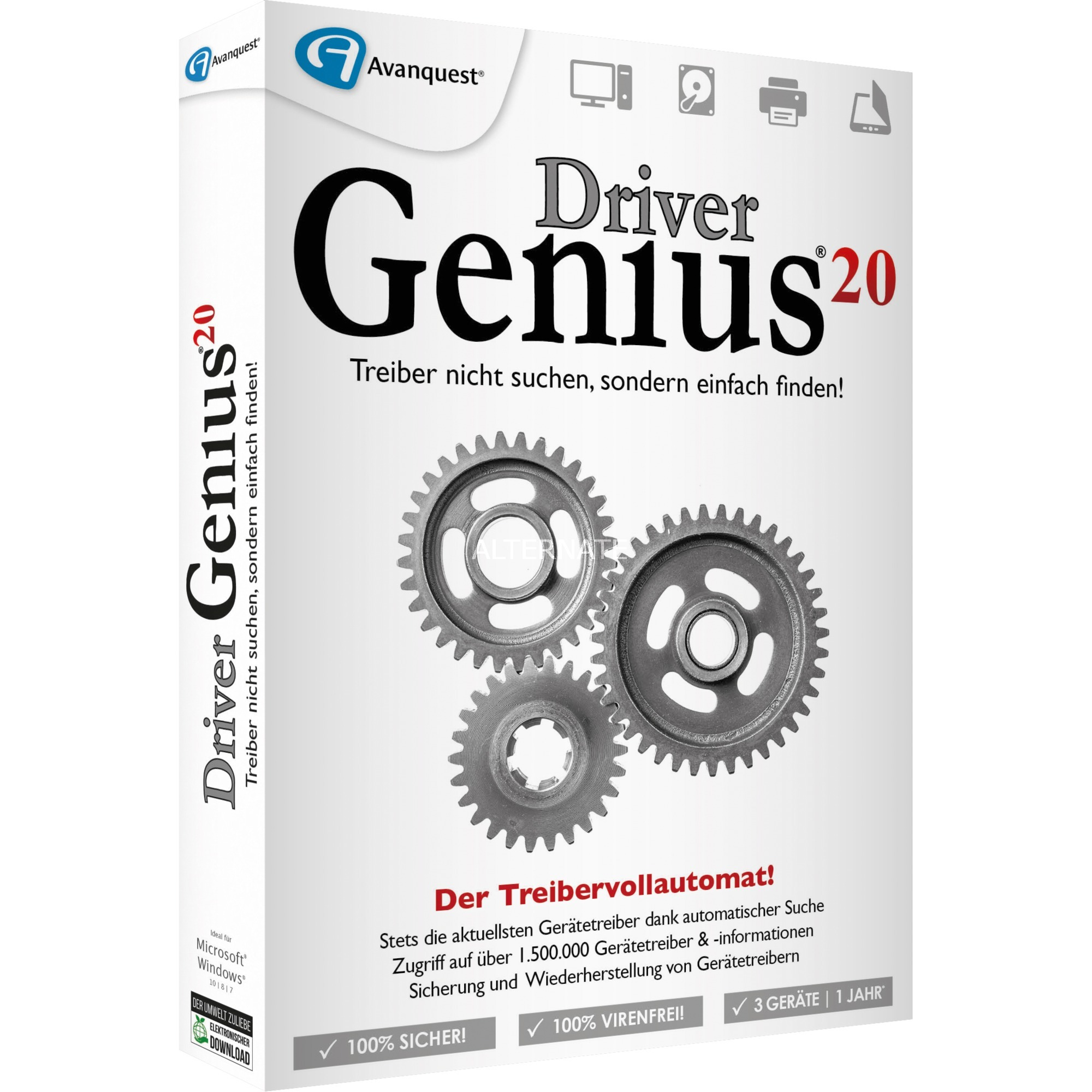 Image of Driver Genius 20, Utilities-Software