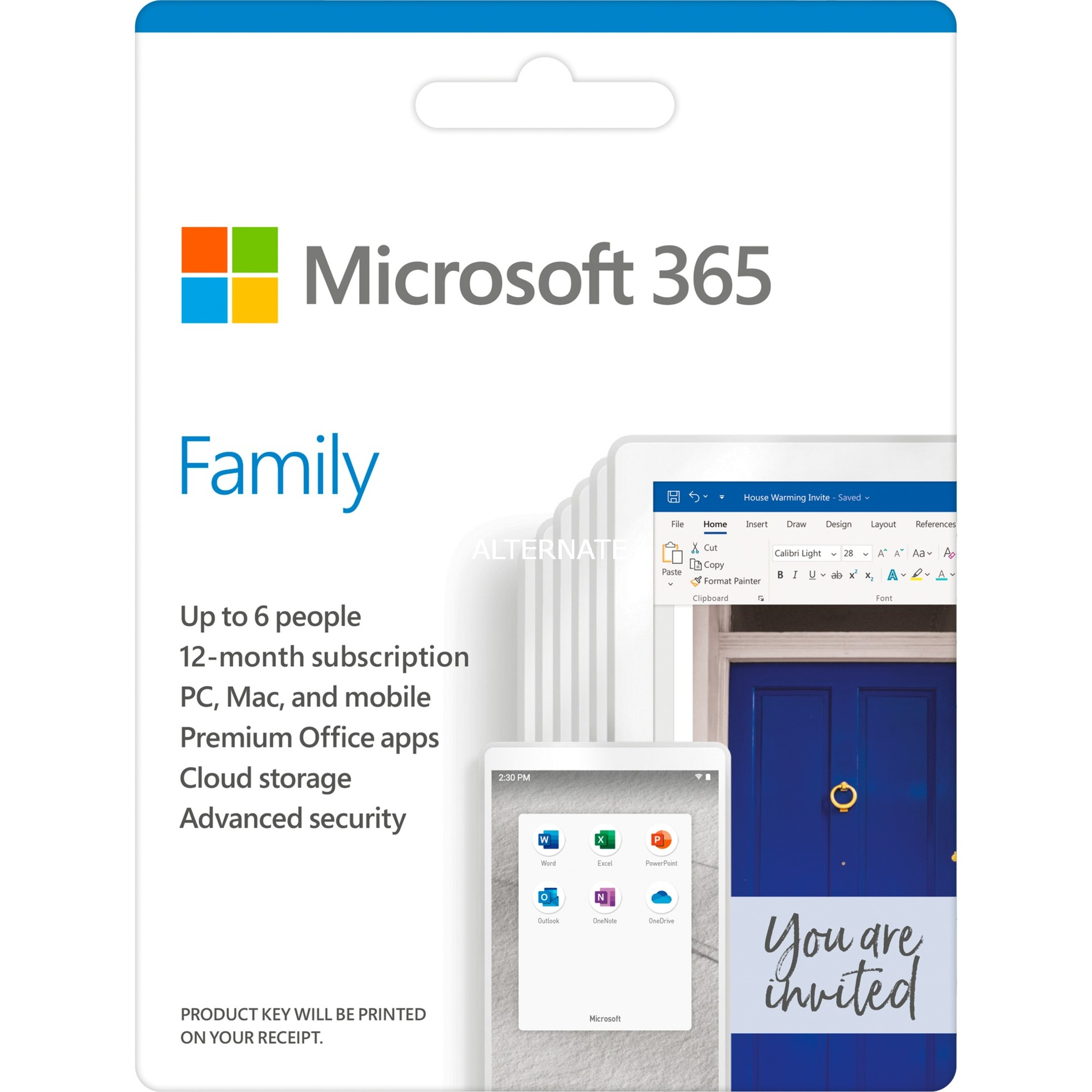 Image of 365 Family , Office-Software