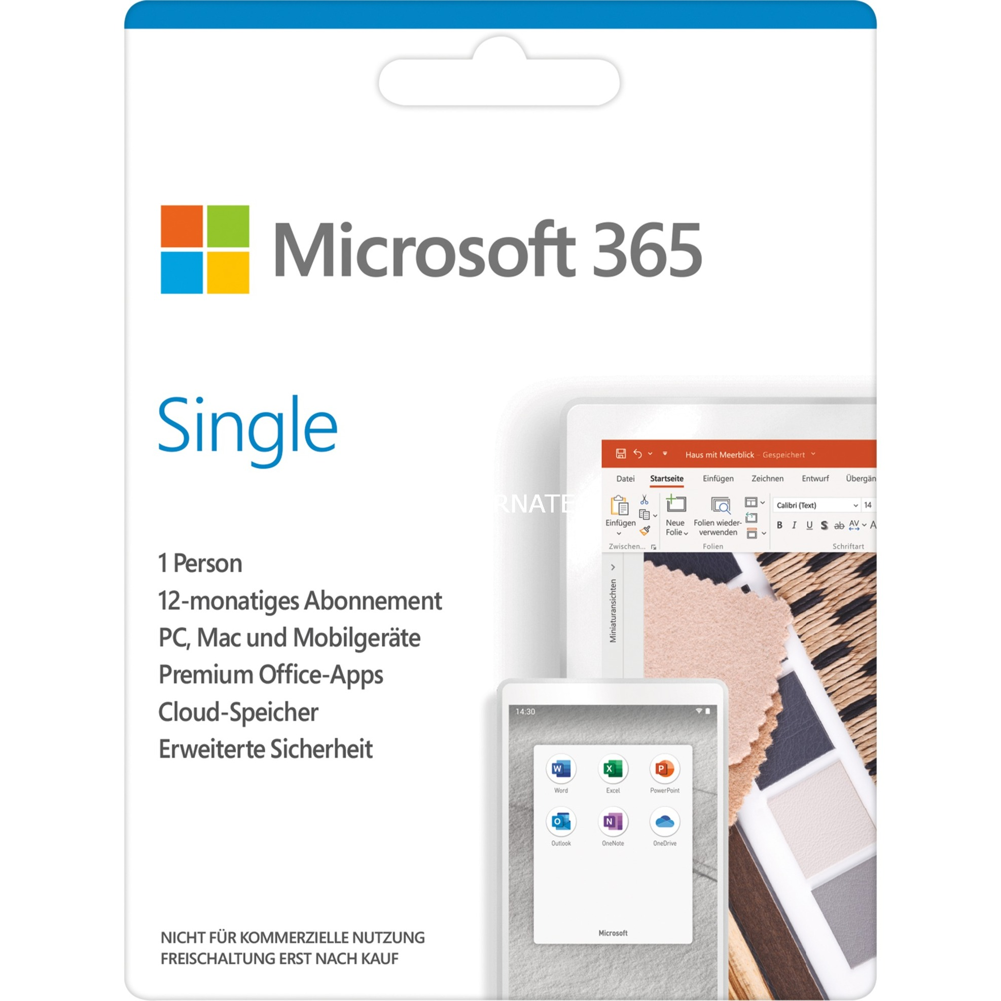 Image of 365 Single , Office-Software